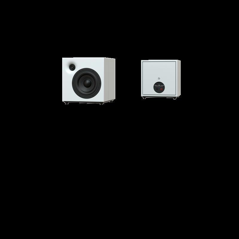 M801 weiss Sehring Audio Systeme 2-Wege-Lautsprecher