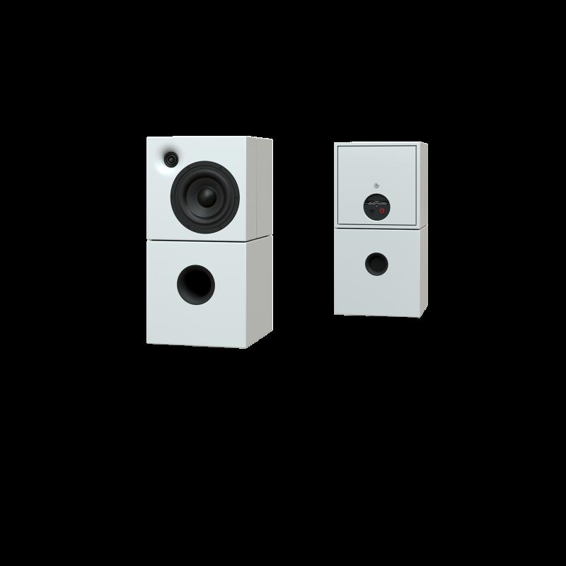 Sehring Audio Systeme 2-Wege-Lautsprecher M802 weiss ohne Stativ