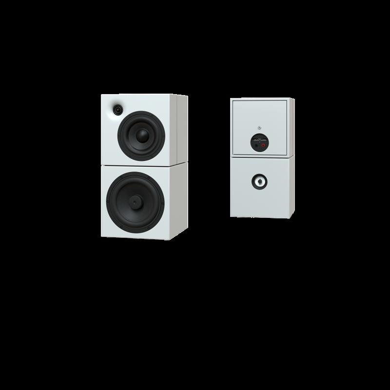 Sehring Audio Systeme 2-Wege-Lautsprecher M803 weiss ohne Stativ