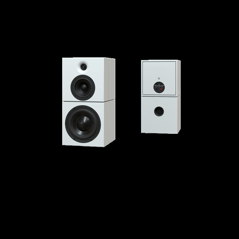 Sehring Audio Systeme 2-Wege-Lautsprecher M901 weiss ohne Stativ
