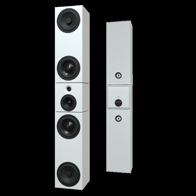 Sehring Audio Systeme 3,5-Wege-Lautsprecher S916 weiss ohne Basisplatte