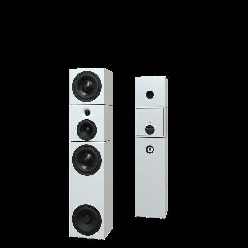 Sehring Audio Systeme 3,5-Wege-Lautsprecher S913 weiss ohne Basisplatte