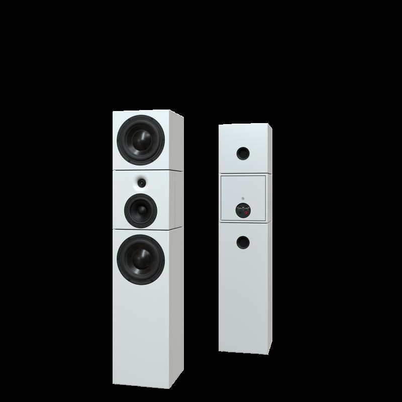 Sehring Audio Systeme 3,5-Wege-Lautsprecher S912 weiss ohne Basisplatte