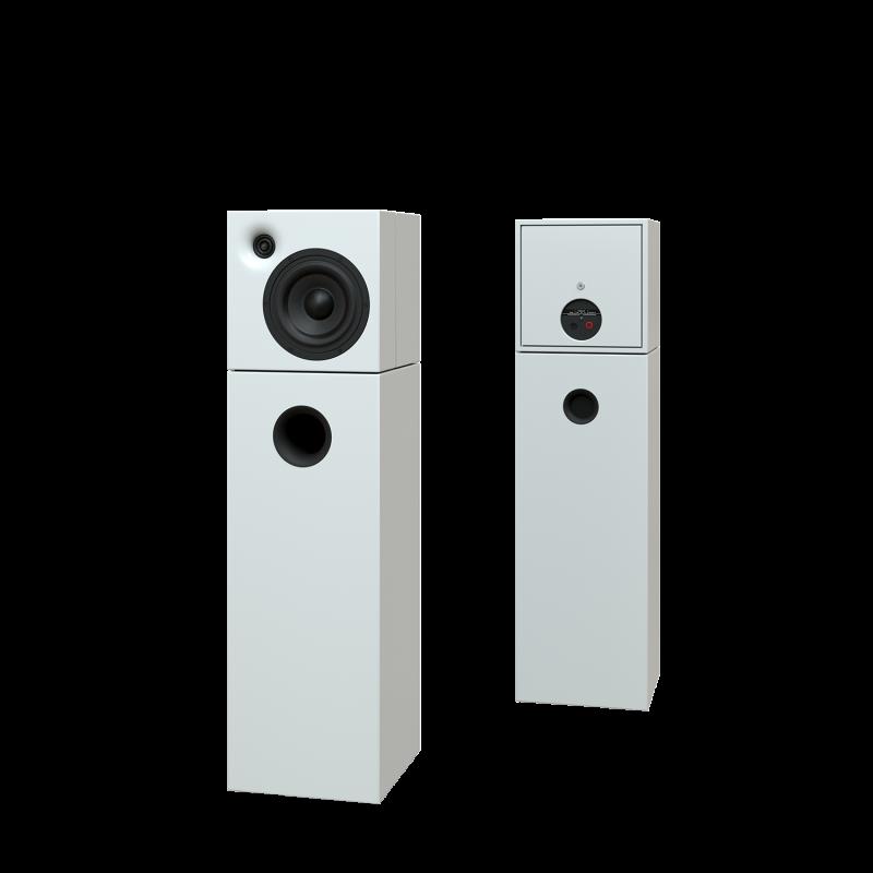 Sehring Audio Systeme 2-Wege-Lautsprecher S802 weiss ohne Basisplatte