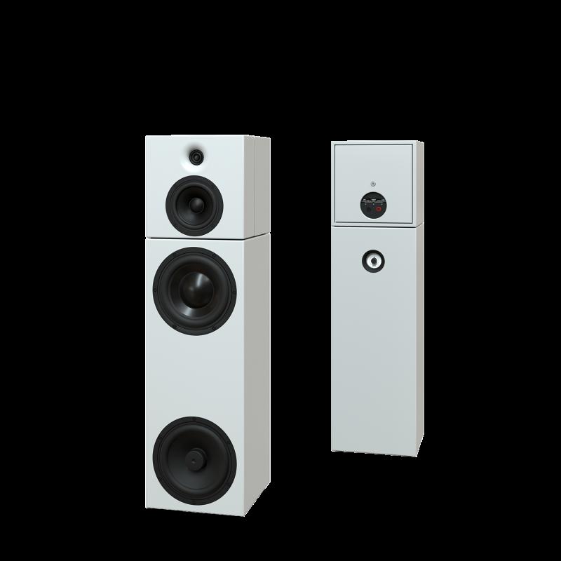 Sehring Audio Systeme 3-Wege-Lautsprecher S903 weiss ohne Basisplatte