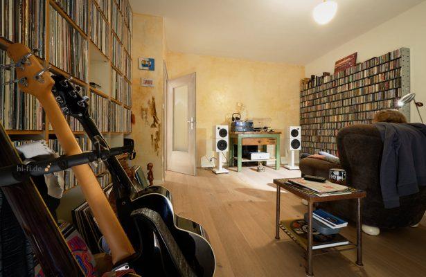 Sehring Audio Systeme 2-Wege-Lautsprecher M803 mit schmalem Sehringstativ
