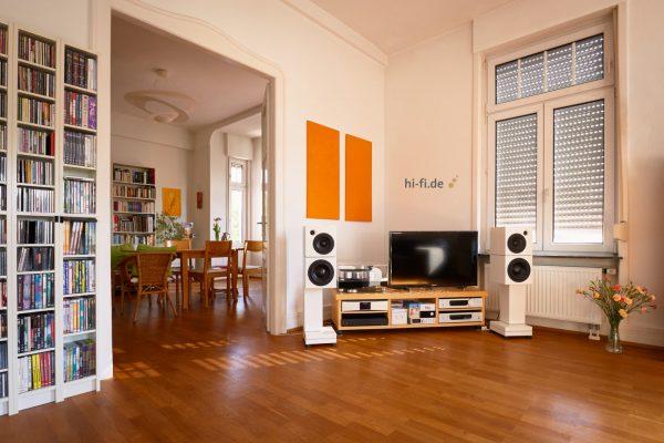Sehring Audio Systeme 2-Wege-Lautsprecher M803 mit breitem Sehringstativ und Basisplatte