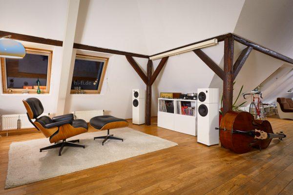 Sehring Audio Systeme 2-Wege-Lautsprecher S803 mit Basisplatte